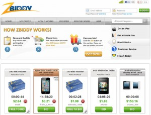 Zbiddy Bidding Guide Best Penny Auction Sites