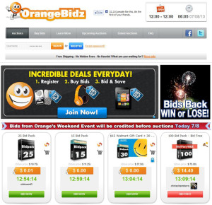 OrangeBidz Strategy Guide - Best Penny Auction Sites