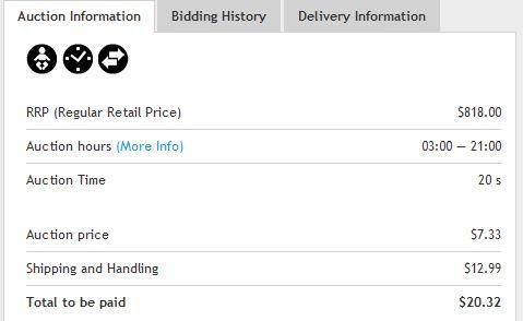 madbid shipping