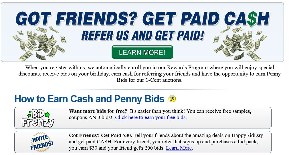 Best Penny Auction Sites 2016 Quibids HappyBidDay